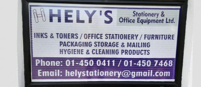 GCM/Hely's Stationery & Office Equipment Ltd
