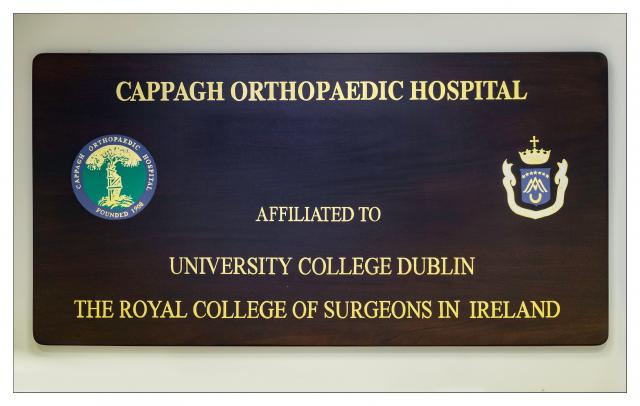 NATIONAL ORTHOPAEDIC HOSPITAL CAPPAGH